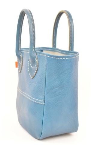 【ふるさと納税】バッグ minca/Tote bag 03/S/BLUE