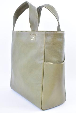 【ふるさと納税】バッグ minca/Tote bag 01/M/DARK GREEN