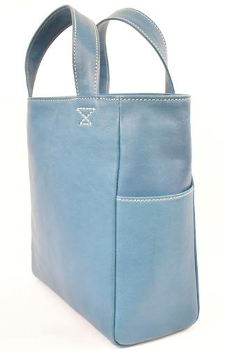 【ふるさと納税】バッグ minca/Tote bag 01/M/BLUE