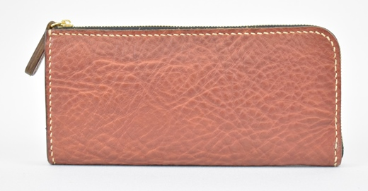 【ふるさと納税】財布 minca/Lzip wallet 02/CHOCO