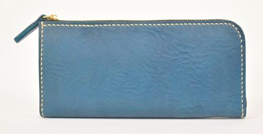 【ふるさと納税】財布 minca/Lzip wallet 02/BLUE