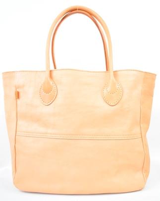 【ふるさと納税】バッグ minca/Tote bag  05/L/TAN