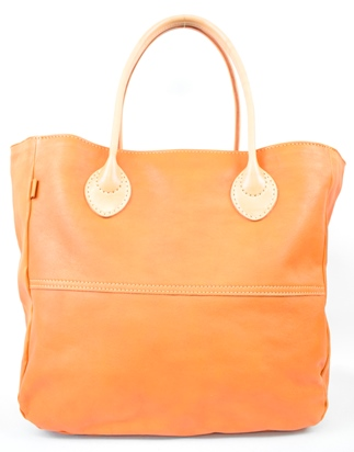 【ふるさと納税】バッグ minca/Tote bag  05/L/BROWN