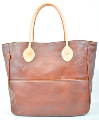 【ふるさと納税】バッグ minca/Tote bag  05/L/CHOCO