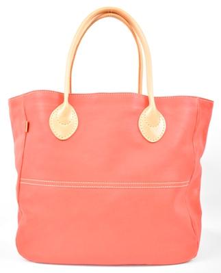 【ふるさと納税】バッグ minca/Tote bag  05/L/RED