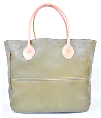 【ふるさと納税】バッグ minca/Tote bag  05/L/DARK GREEN