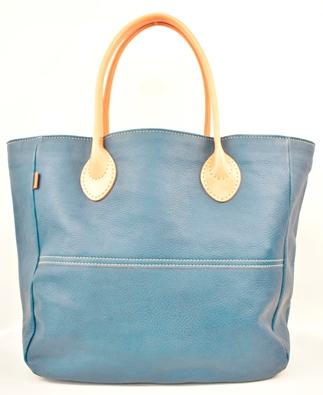 【ふるさと納税】バッグ minca/Tote bag  05/L/BLUE
