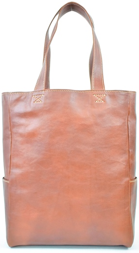 【ふるさと納税】バッグ minca/Tote bag 01/L/CHOCO