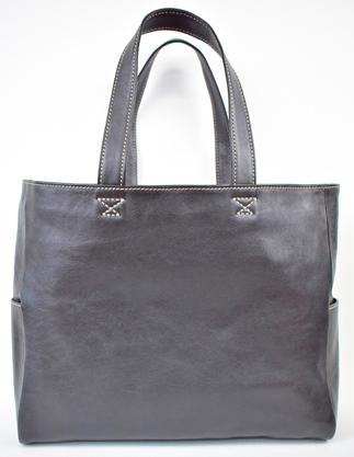 【ふるさと納税】バッグ minca/Tote bag 02/L/BLACK
