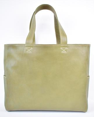 【ふるさと納税】バッグ minca/Tote bag 02/L/DARK GREEN