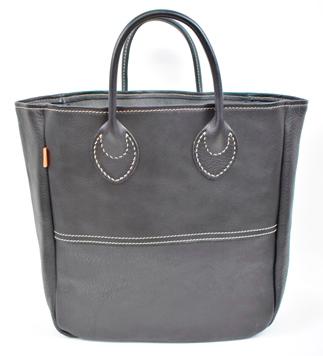 【ふるさと納税】バッグ minca/Tote bag 03/M/BLACK