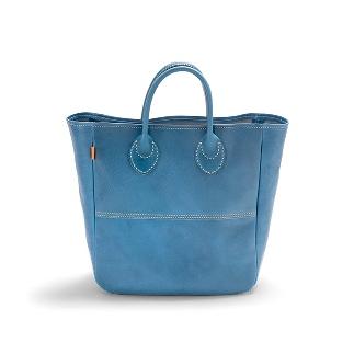 【ふるさと納税】バッグ minca/Tote bag 03/M/BLUE