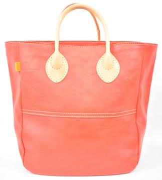 【ふるさと納税】バッグ minca/Tote bag  05/M/RED