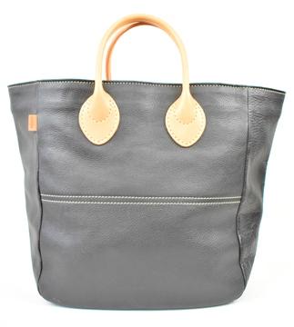 【ふるさと納税】バッグ minca/Tote bag  05/M/BLACK