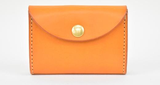 【ふるさと納税】財布 minca/Coin purse 02/BROWN