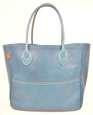 【ふるさと納税】バッグ minca/Tote bag 03/L/BLUE