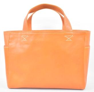 【ふるさと納税】バッグ minca/Tote bag 02/M/BROWN
