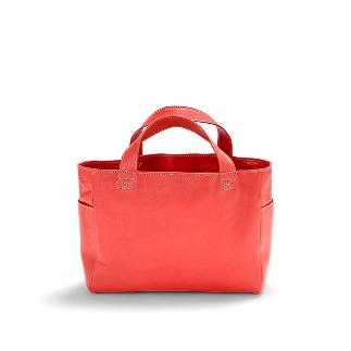 【ふるさと納税】バッグ minca/Tote bag 02/M/RED
