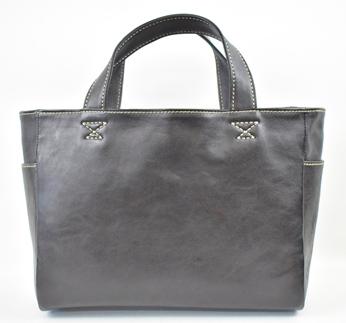 【ふるさと納税】バッグ minca/Tote bag 02/M/BLACK