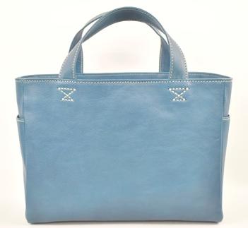 【ふるさと納税】バッグ minca/Tote bag 02/M/BLUE