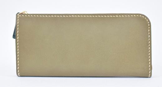 【ふるさと納税】財布 minca/Lzip wallet 01/DARK GREEN