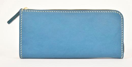 【ふるさと納税】財布 minca/Lzip wallet 01/BLUE