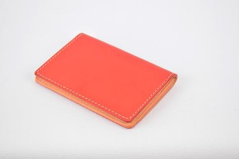 【ふるさと納税】名刺入れ minca/Card holder 01/RED