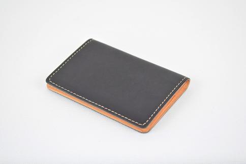 【ふるさと納税】名刺入れ minca/Card holder 01/BLACK