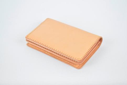 【ふるさと納税】名刺入れ minca/Card holder 02/TAN