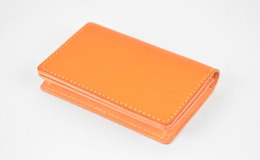 【ふるさと納税】名刺入れ minca/Card holder 02/BROWN