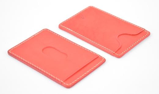 【ふるさと納税】パスケース minca/Pass holder 01/RED