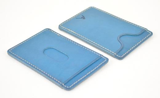 【ふるさと納税】パスケース minca/Pass holder 01/BLUE