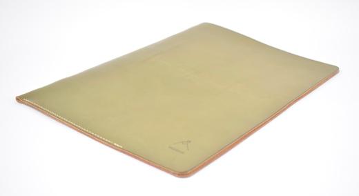 【ふるさと納税】ドキュメントフォルダー minca/Document holder 01/DARK GREEN