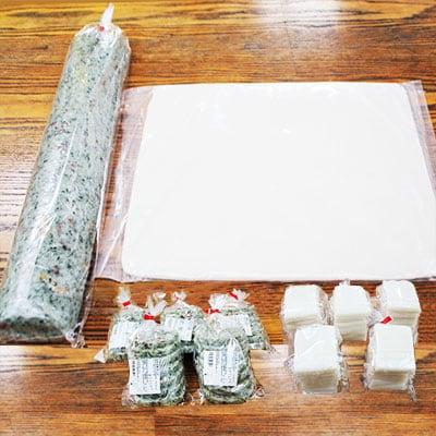 【ふるさと納税】白餅・豆餅 杵つき餅セット(12月25日発送分)【1018853】