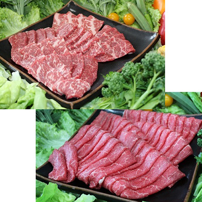 【ふるさと納税】那須野ヶ原牛 焼肉としゃぶしゃぶで堪能セット【1004896】