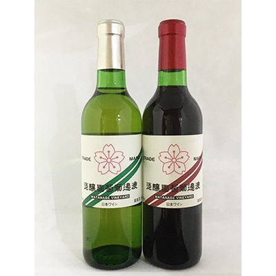 【ふるさと納税】360ml赤白ワイン2本セット【1000178】