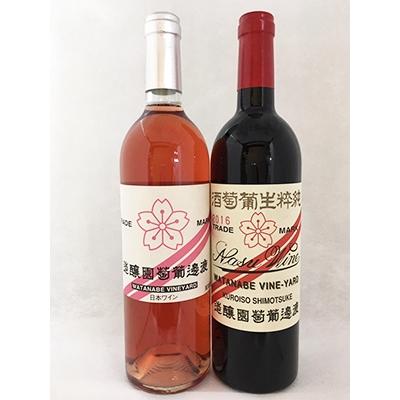 【ふるさと納税】750ml赤/ロゼワイン2本樽熟成セット【1000894】