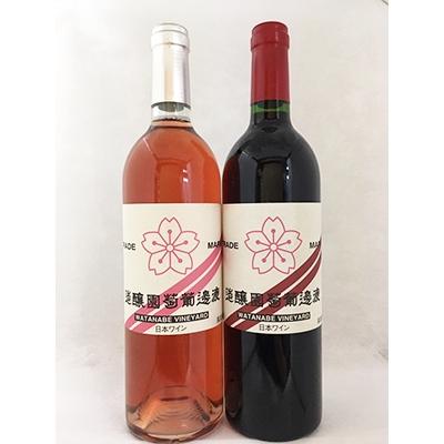【ふるさと納税】750ml赤/ロゼ ワイン2本スタンダードセット【1000895】
