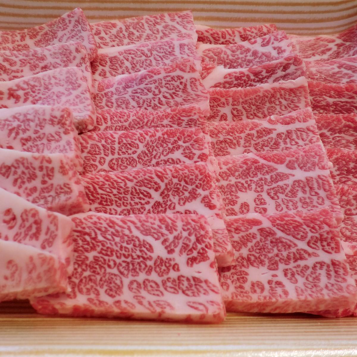 【ふるさと納税】日光高原牛特撰牛カルビ焼肉用500g入