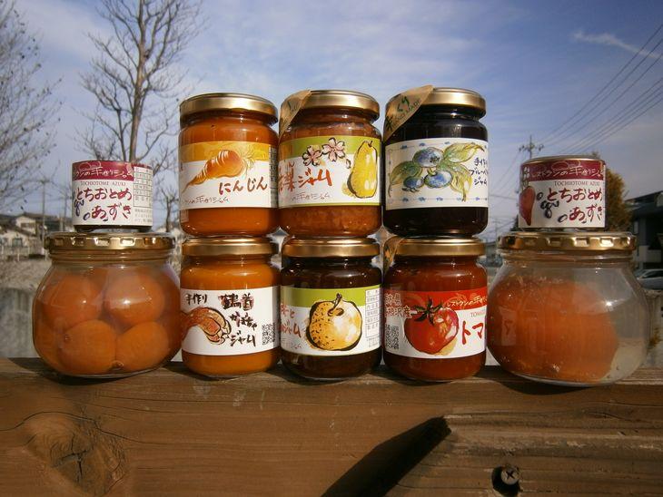 【ふるさと納税】たんたんジャム6種・まるごとトマトのコンポート・まるごとミニトマトのコンポート