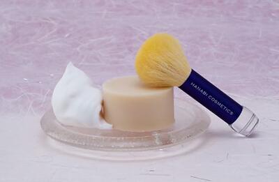 天糸の美肌筆(黄金繭特別バージョン)洗顔セット