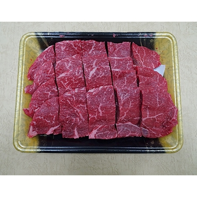 【ふるさと納税】冷凍上州牛 ランイチカットステーキ約800g【1082409】