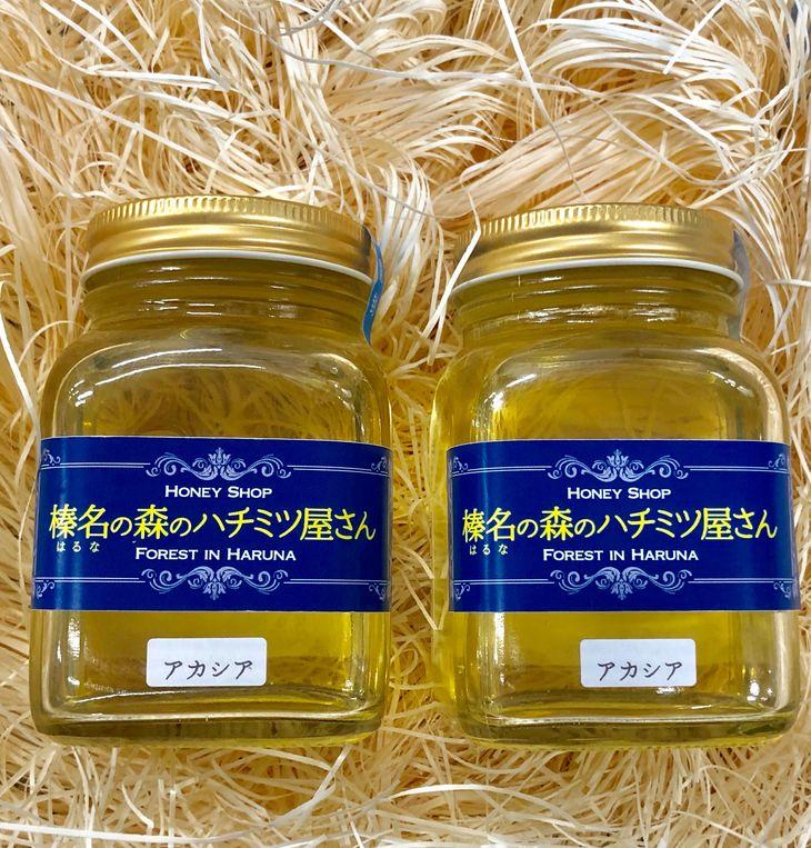 【ふるさと納税】榛名山の麓、榛東村のアカシアの蜂蜜2本セット(たっぷり300g×2)
