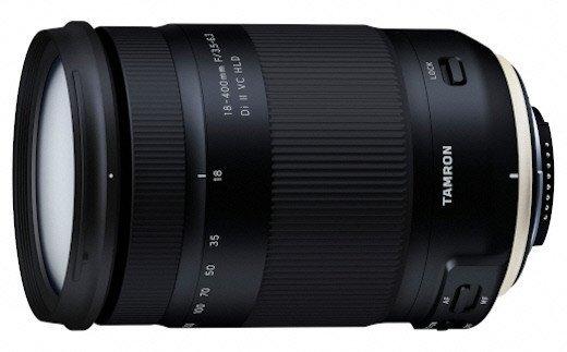 【ふるさと納税】タムロン APS-C一眼レフ用交換レンズ 18-400mm F3.5-6.3 Di II VC HLD(ニコンFマウント用) Model:B028N 【11100-0097】