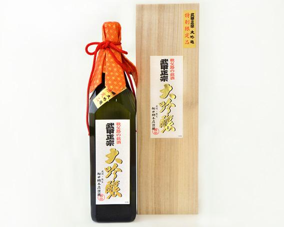 【ふるさと納税】No.026 武甲正宗 大吟醸 桐箱入 1.8L / お酒 日本酒