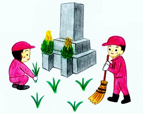 【ふるさと納税】No.144 墓地の除草(秩父聖地公園を除く市内の墓地)