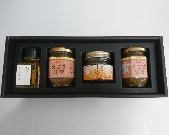 【ふるさと納税】No.213 ちちぶ荏胡麻(えごま)三種詰め合せ / えごまオイル 油 惣菜 セット
