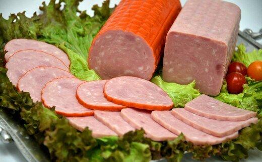 良質な豚肉のみで製造 業務用でしか入手できない 定番 ブロックタイプのチョップドハム ふるさと納税 まるごと チョップドハム 2kg×2本 計4kg 11211-0134 再入荷/予約販売!