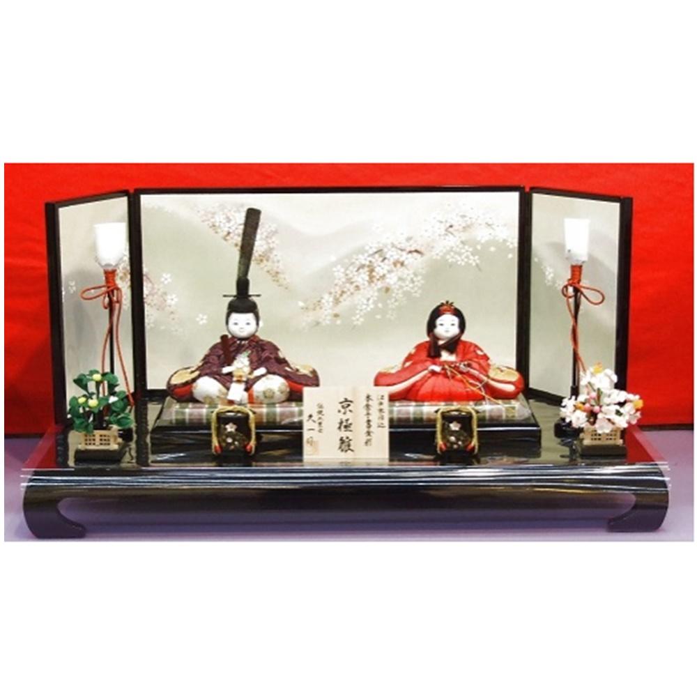 【ふるさと納税】AS-87 木目込親王平飾「きょうごく」【KM24002京極】