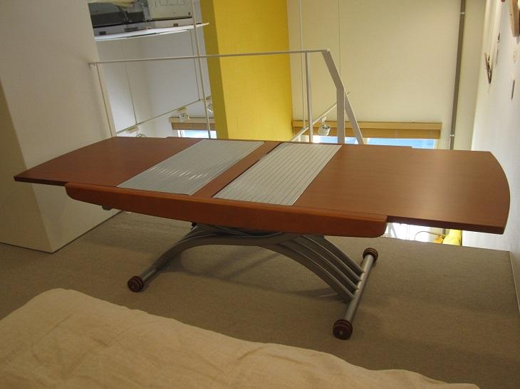 【ふるさと納税】昇降式多目的テーブル オッジオ